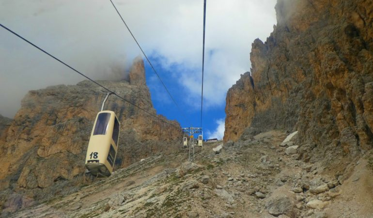 Vandring i Dolomiterna: Sassolungo – att besegra Riddar Katos borg