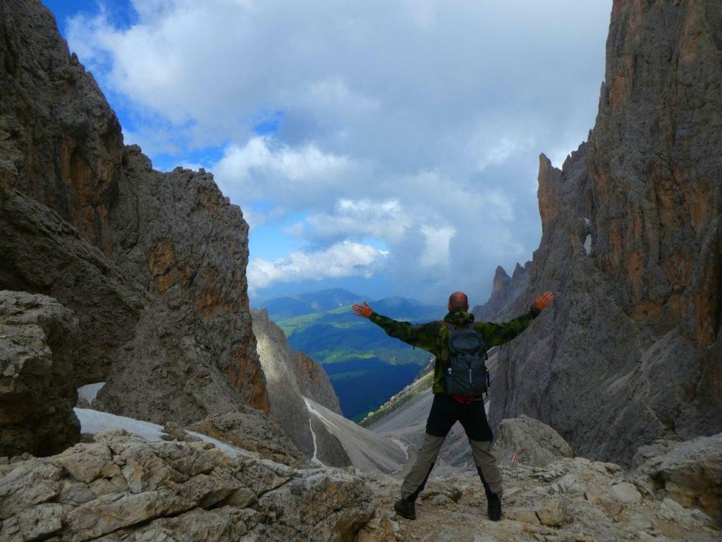 Vandring i Dolomiterna - Sassolungo