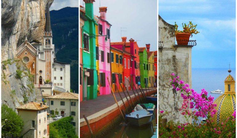 10 platser i Italien som gjorda för Instagram