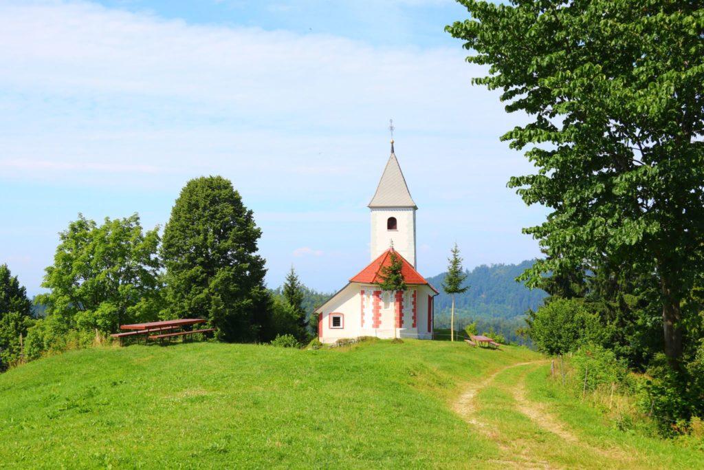 På väg till Velika Planina och vandring i Slovenien
