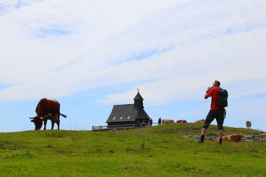 Velika Planina och vandring i Slovenien