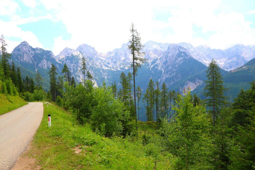 Österrike Velika Planina och vandring i Slovenien