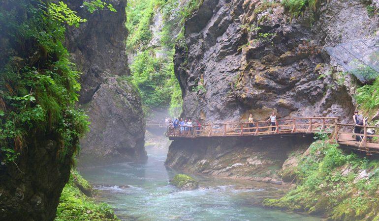 Canyon-vandring i Slovenien: Vintgar, Tolmin och Skocjan