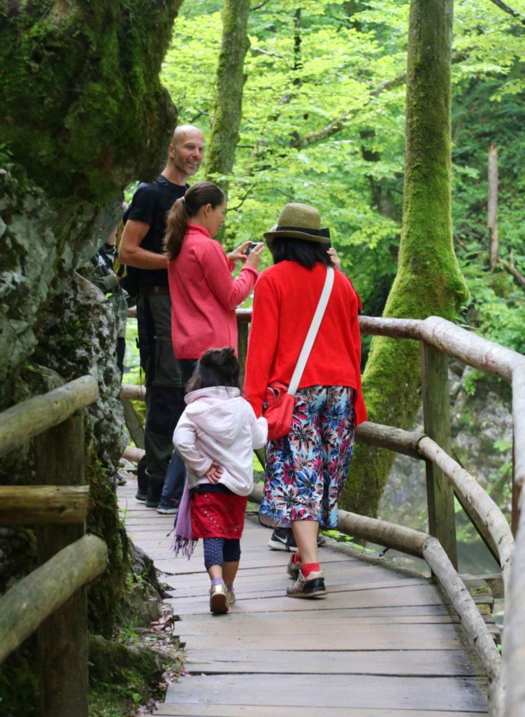 Canyon-vandring i Slovenien: Vintgar, Tolmin och Skocja