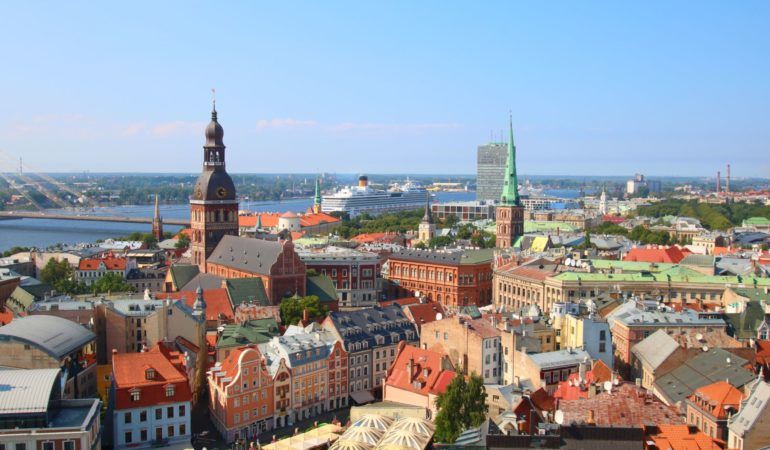 Utsikt över Riga