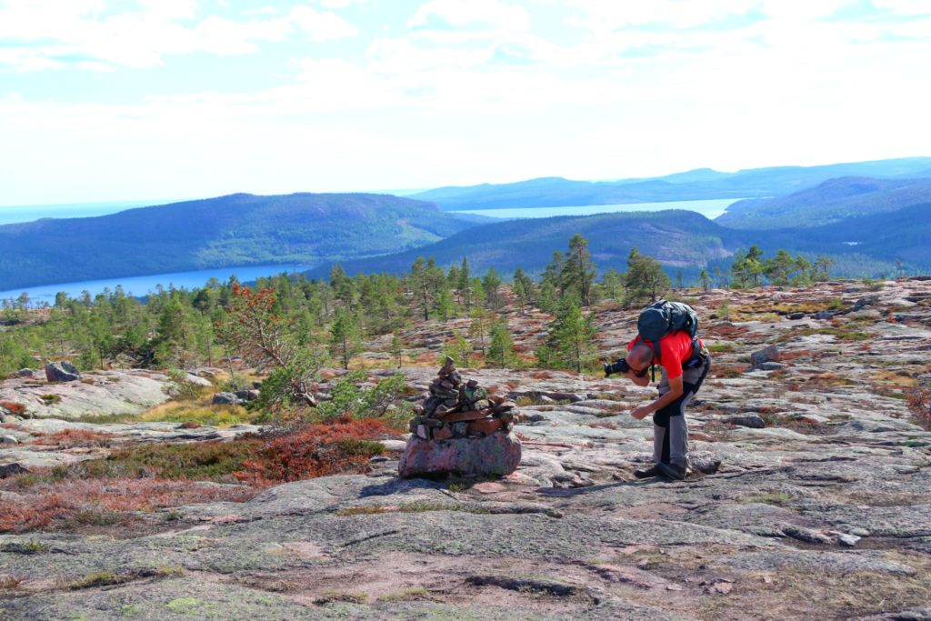 Bästa stoppen längs E4:an genom Norrland slåttdalsberget