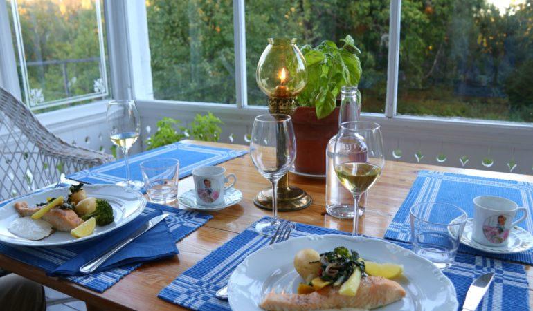 Länsmansgården – lugnet i Lugnvik