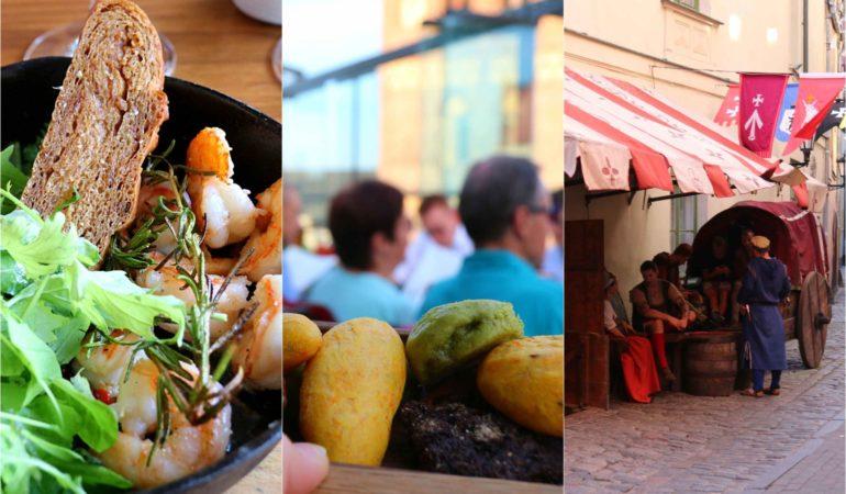 Tips på bra restauranger i Riga (och några andra när vi ändå håller på) – Här åt och drack vi på vår weekend