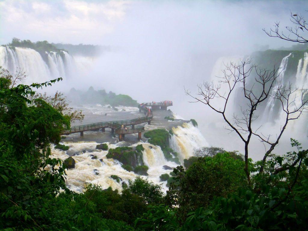 Världens största vattenfall iguazu