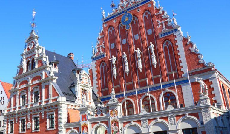 Riga har absolut vackra hus...