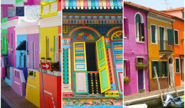 7 härligt färgglada städer – tänk att man kan bli på så bra humör av lite färg