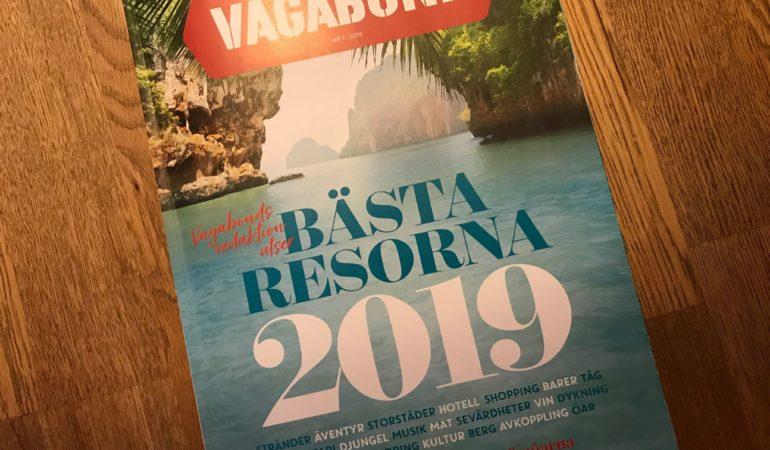Om man inte kan resa får man drömma istället – 2019 års resmål enligt Vagabond