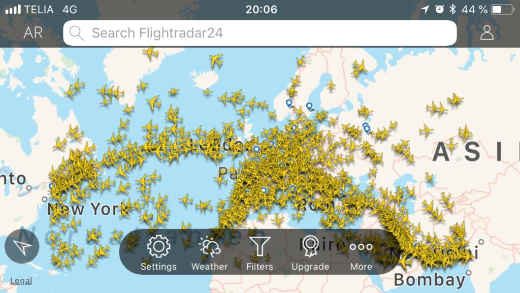oumbärliga appar för flyg