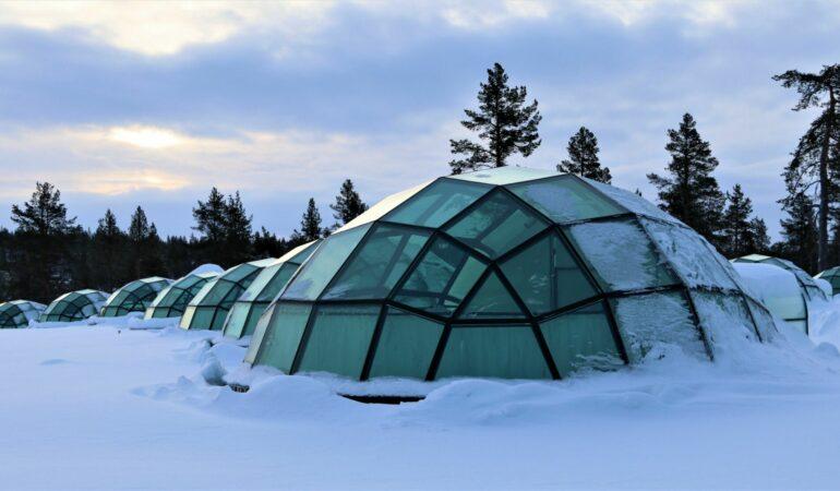 Tillbaka efter vår vinter-weekend i finska Rovaniemi