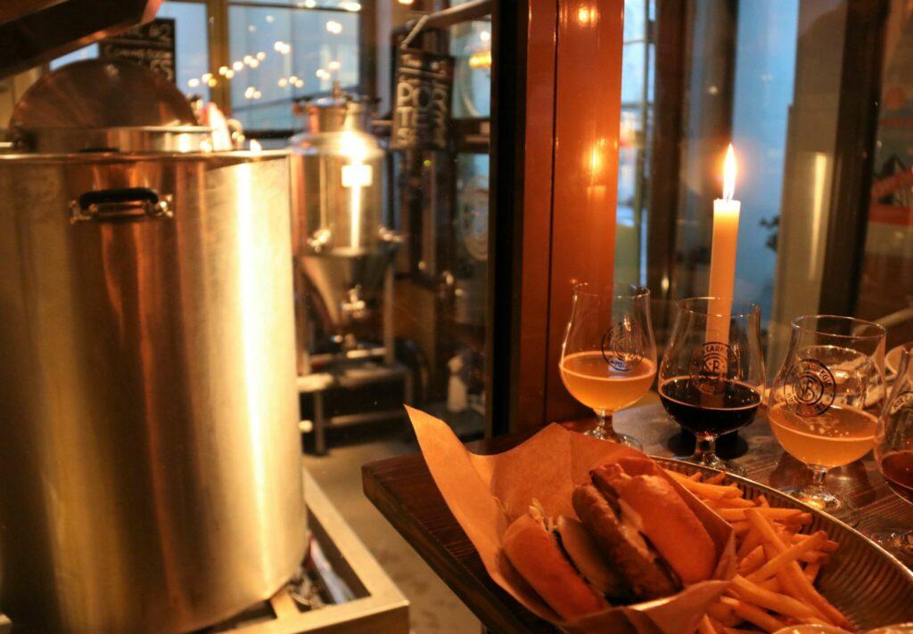Ölprovning på Nya Carnegiebryggeriet