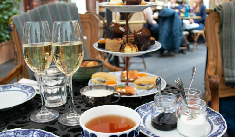 Afternoon Tea på Gotthards Krog, Stora Hotellet i Umeå