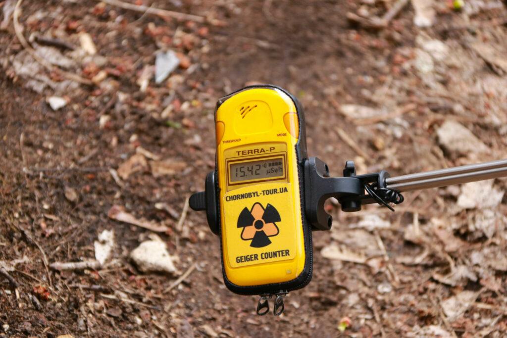farligt att besöka Tjernobyl