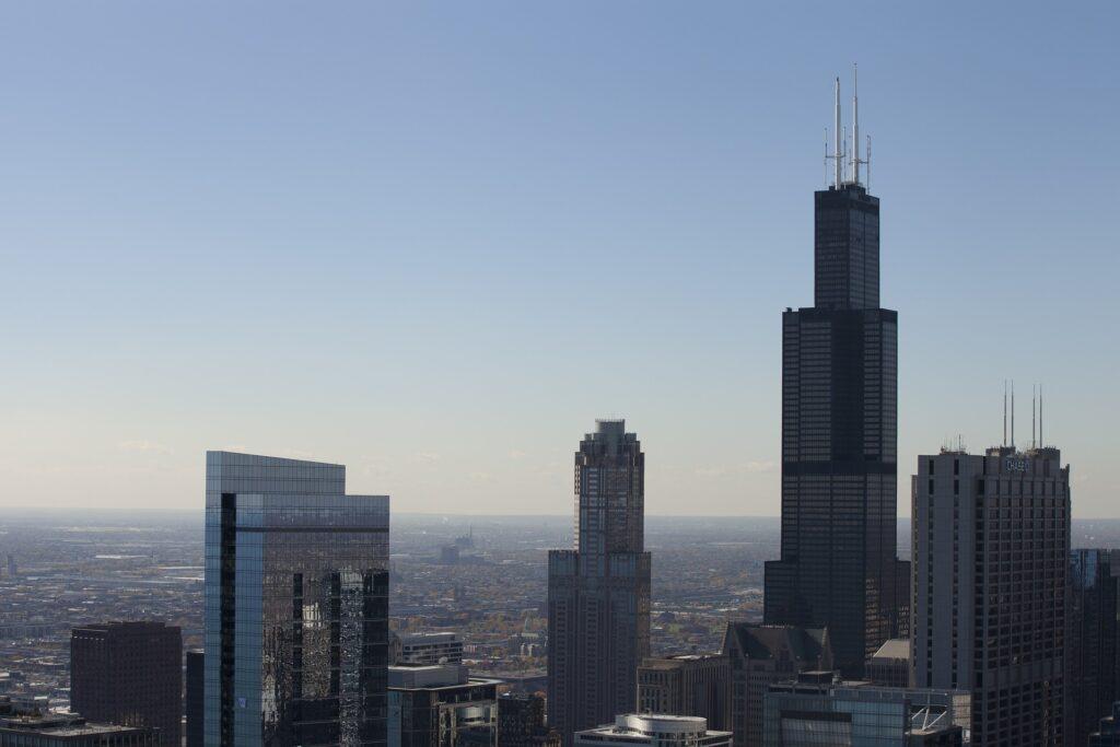 Världens högsta byggnader willis tower