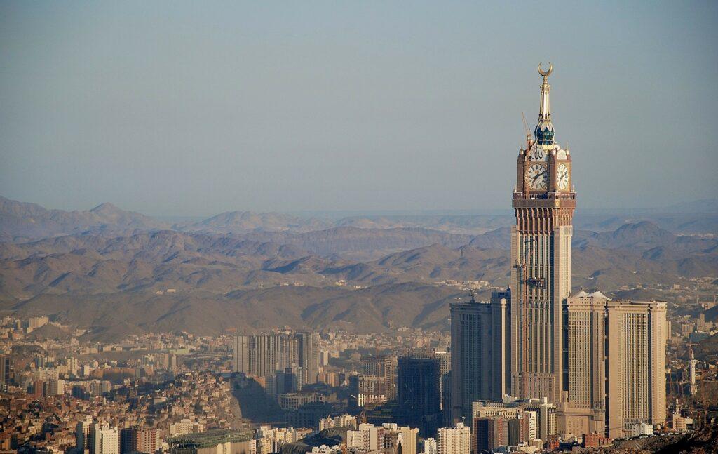 Världens högsta byggnader - mekka