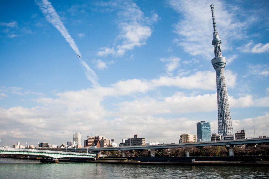 Världens högsta byggnader - tokyo skytree
