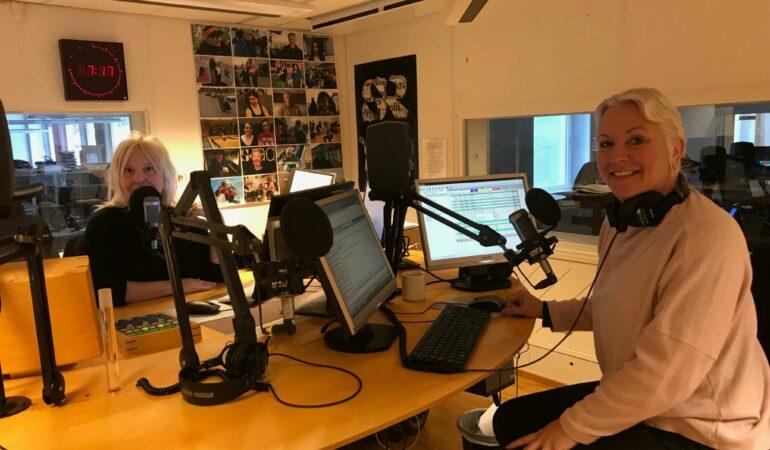 Igår pratade vi tågluff i P4 Västerbotten