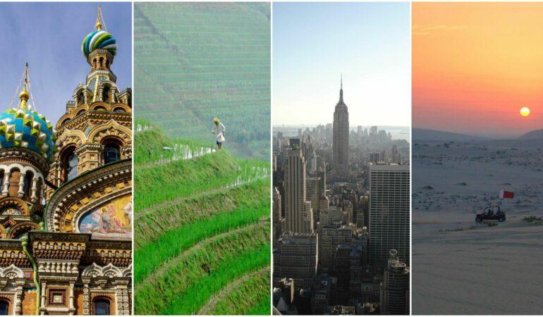 Världens största länder till yta, folkmängd och ekonomi