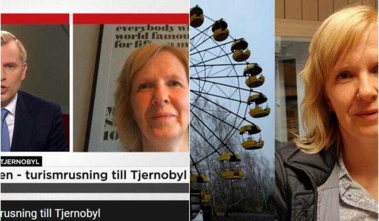 Nu vill visst alla medier att jag ska prata om Tjernobyl – radio och tv har ringt