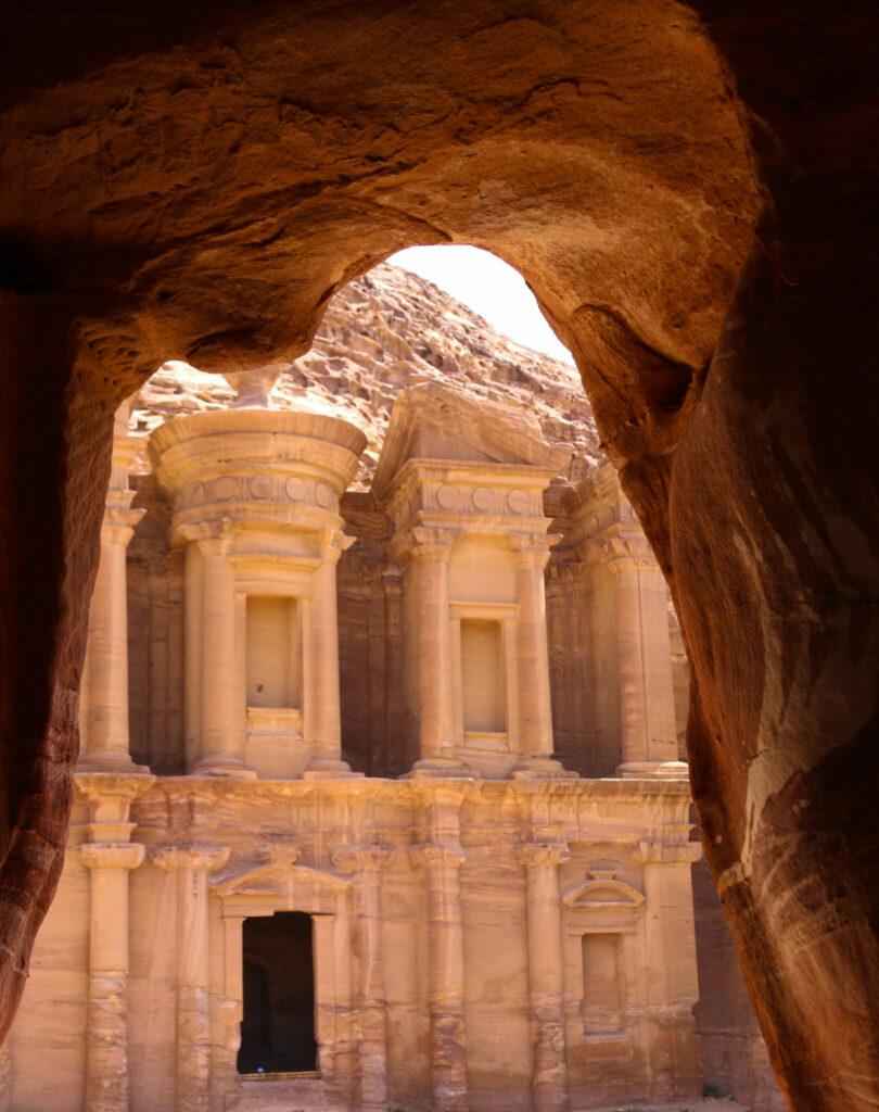 Petra i Jordanien