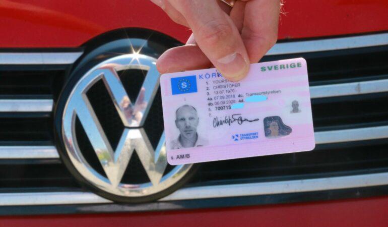 Nu har jag (Christofer) fått tillbaka körkortet