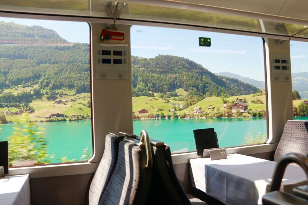 tågluffa i Schweiz