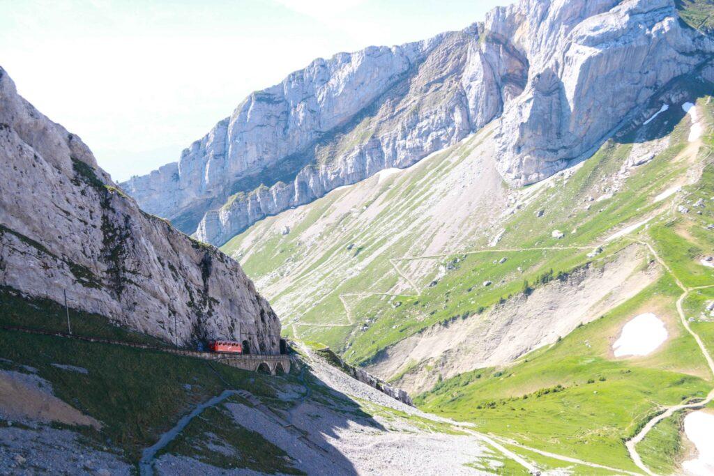 Pilatus - världens brantaste bergbana