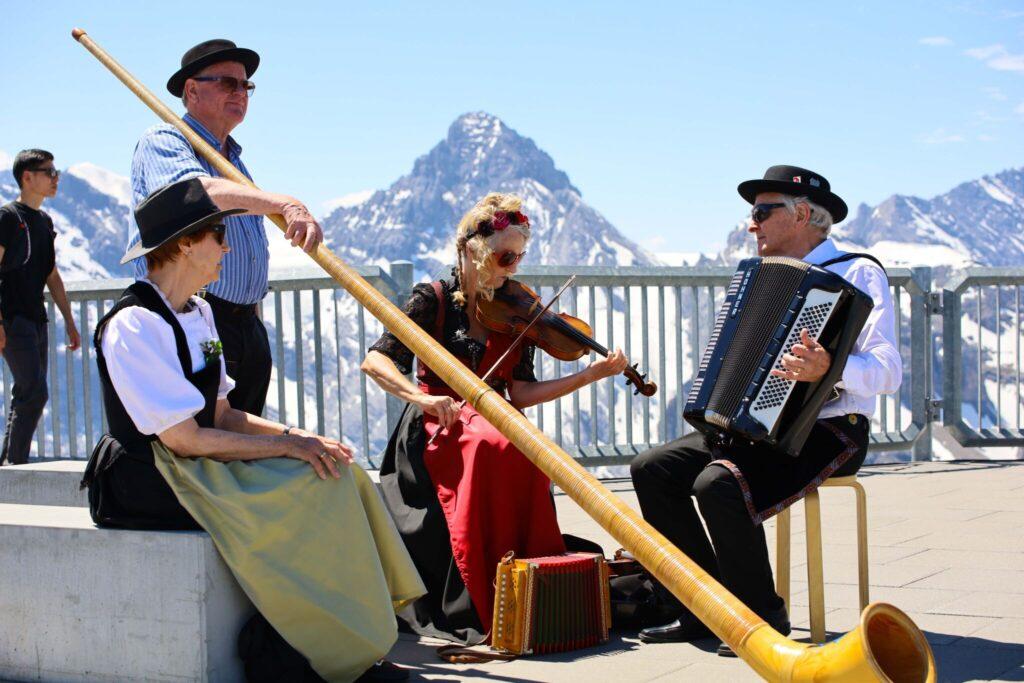 Schilthorn - James Bond-berget i Schweiz