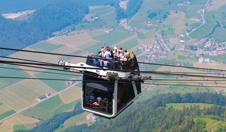 Stanserhorn – linbanan som garanterat kommer att hamna på någon lista