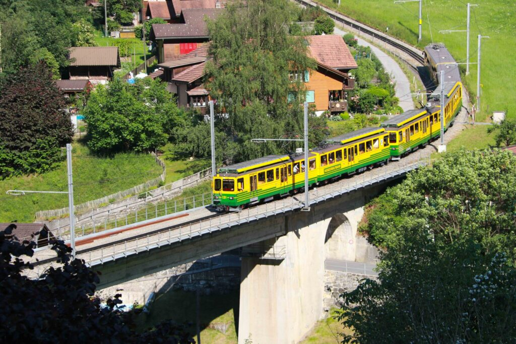 Swiss Travel Pass i Jungfrau-regionen