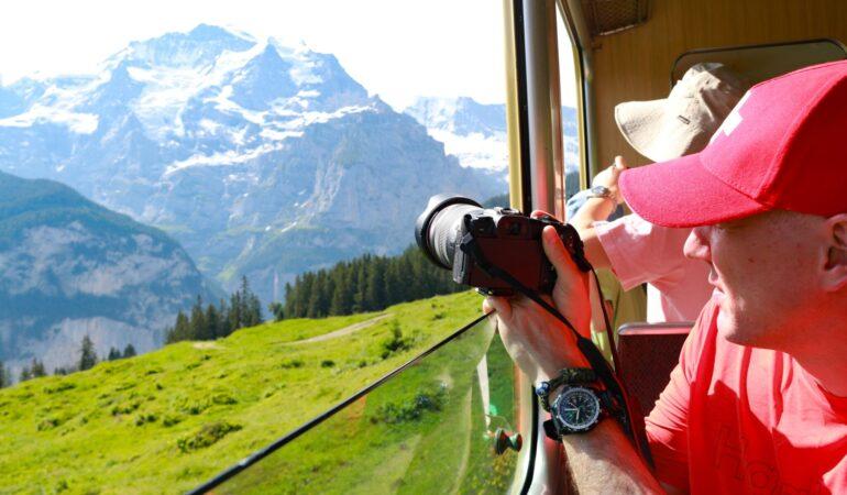 Bästa tipsen för att tågluffa i Schweiz – appar, wi-fi och vackra sträckor