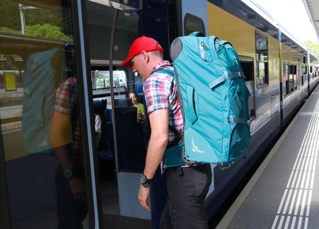Bästa väskan för en tågluff