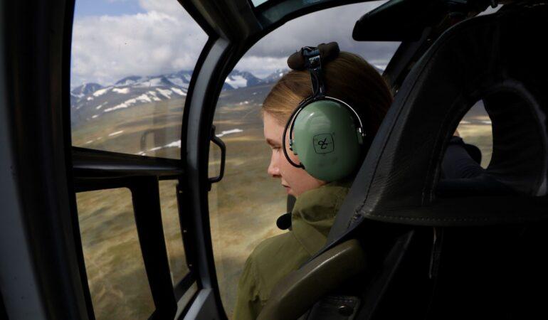 Helikopter till Kebnekaises topp – hur blev det, kom vi upp eller inte?
