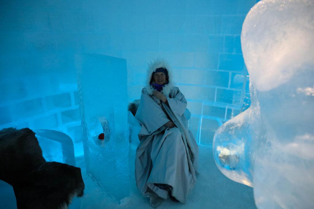rutt i Lappland Ice Hotel