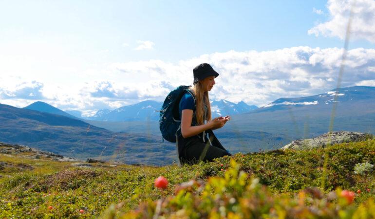 Vandring till Soldalen i Stora Sjöfallets nationalpark – och Vägen västerut