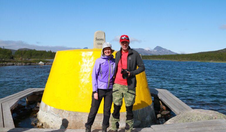 Att vandra till Treriksröset – tre länder i ett och en svensk ytterpunkt på det