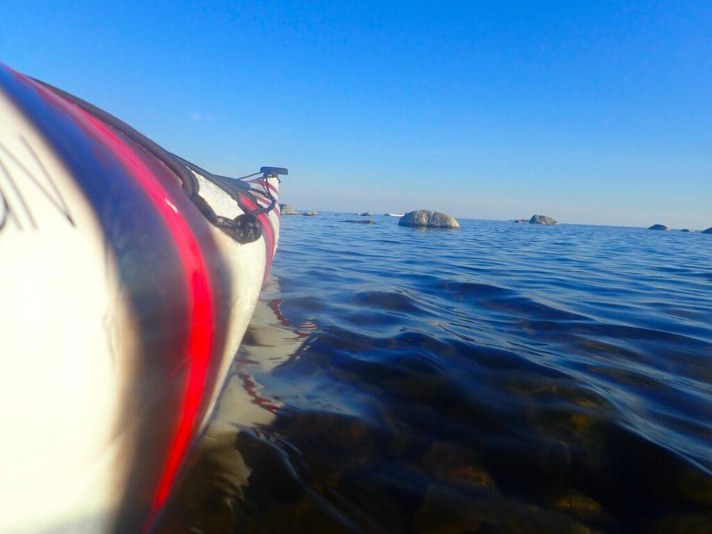 Att paddla havskajak