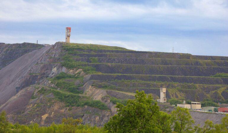 LKAB´s gruva i Kiruna – och när vi plötsligt jagade den där guldvagnen