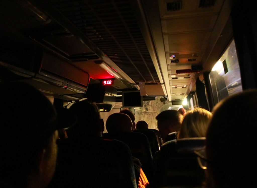 LKAB´s gruva i Kiruna busstur