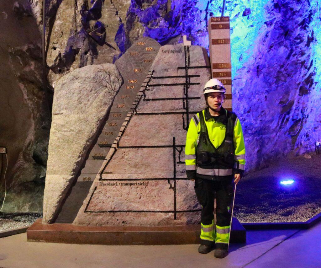 LKAB´s gruva i Kiruna
