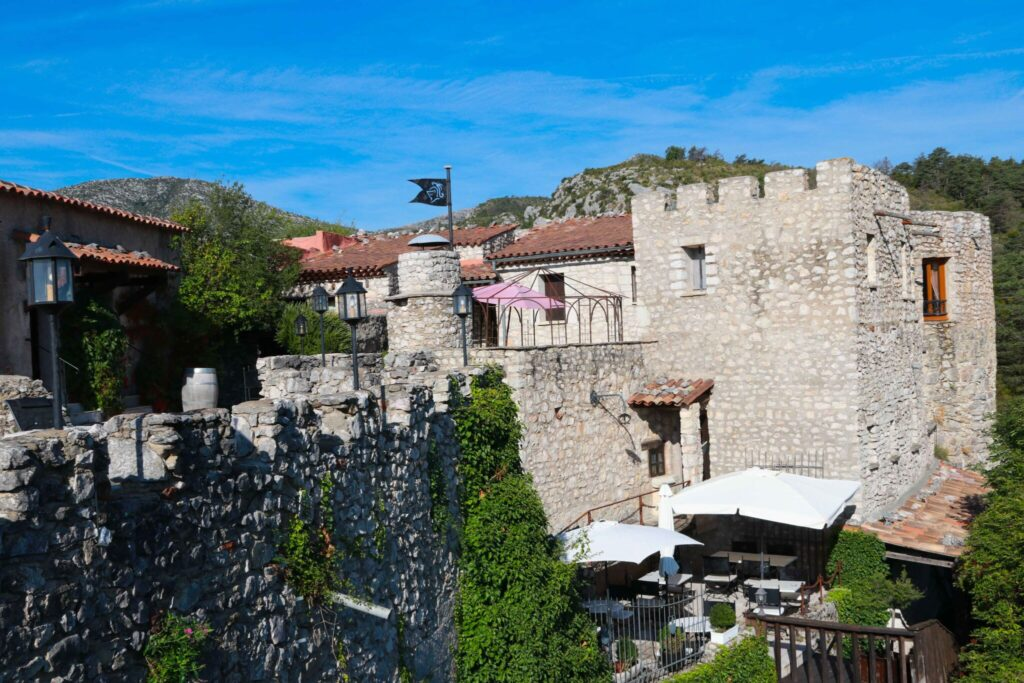 Château de Trigance - att bo på slott i Provence, Frankrike