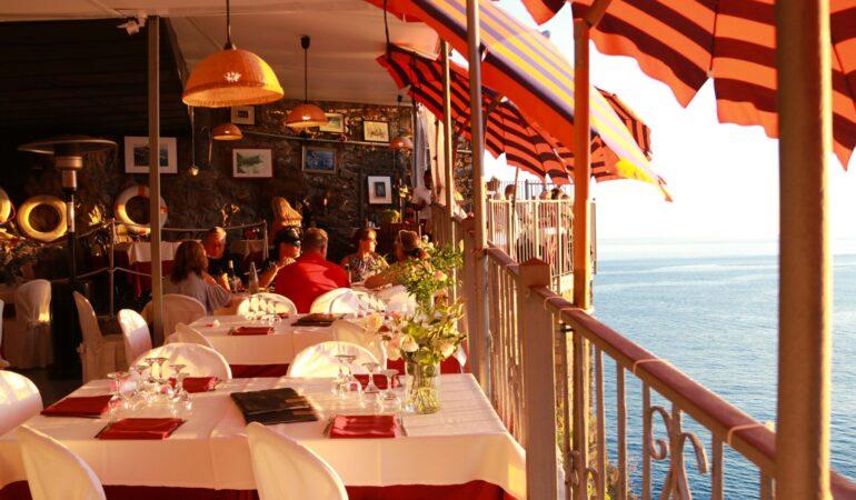 Bästa restaurangerna i Vernazza, Cinque Terre – för den som gillar utsikt