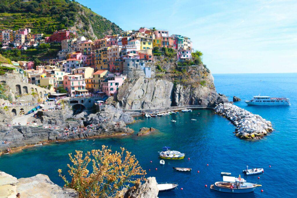 Vandring längs Cinque Terre: Vernazza-Corniglia-Manarola