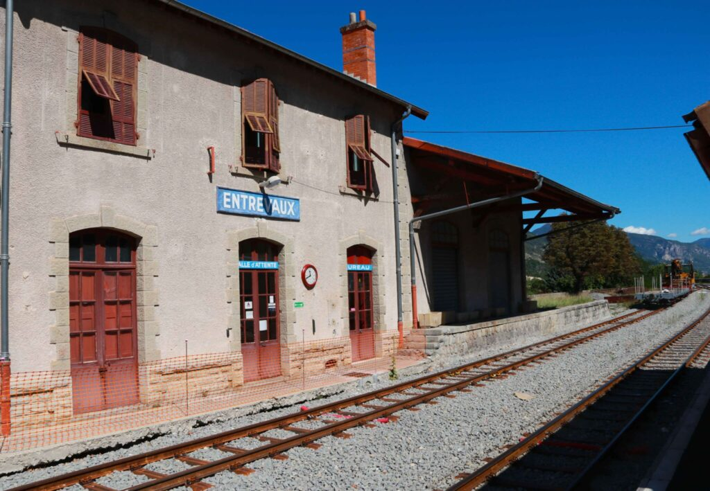 Train des Pignes - en tågresa i Provence
