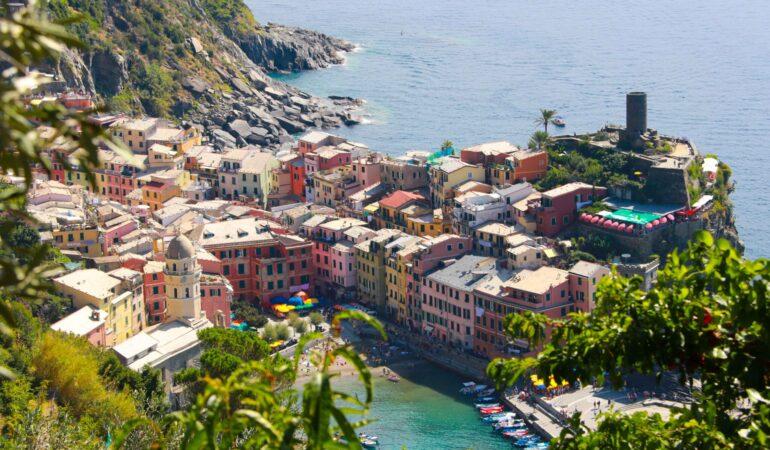 Vandring Cinque Terre: Monterosso till Vernazza