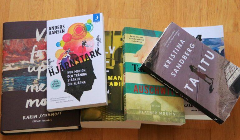 De här böckerna läser jag i höst